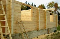 строительство домов из бревен Астрахань