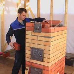Услуги печника, каменщика в Астрахани. Строительные работы кладка